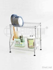 Patent Adjustable Dish Drainer Shelf
