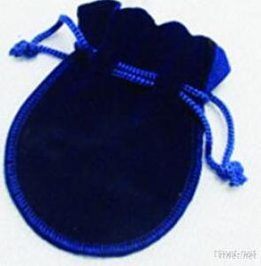 High-End Velvet Bag With Drawstring