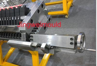 plastic flat sheet extrusion mould t die t molding