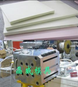 xps foam sheet extrusion mould