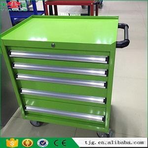 Garage Tool Cabinet, Tool Box Side Cabinet, Tool Chest With 5 Drawers