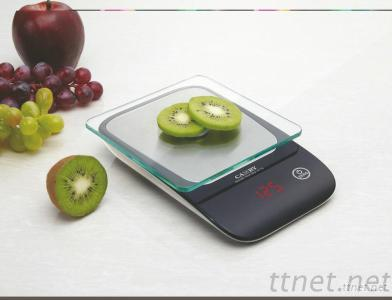 Camry Electronic Household Kitchen Food Scale With 5Mm Tempered Glass Platform