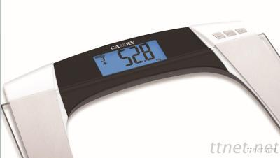 Camry Electronic Personal Body Fat Scale With 6 Mm Tempered Glass And Wide Stable Base