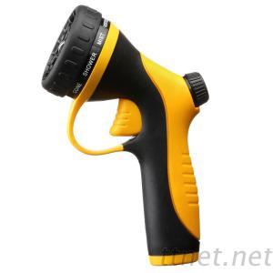 One-Click Trigger Adjustable Plastic Garden Sprayer Nozzle