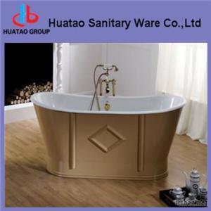 Oval Cast Iron Bathtub