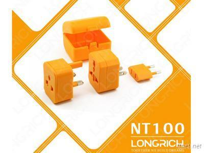 2014 Longrich Hot Sell Universal Travel Adapter With Bright Color For Business Gift Items Nt-100