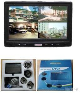 Hanwal 4Ch Touchscreen DVR Kit For Home Security