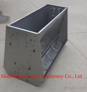Pig Feeder With Feed Quantity Adjustable Facility