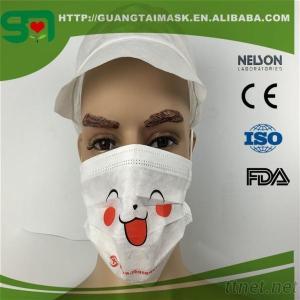 Cartoon Printed Face mask(3-ply, PP+MB+PP)