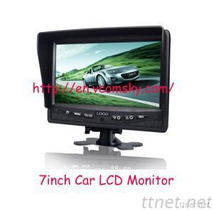 7 Inch Digital LCD Monitor With Metal Housing, Waterproof