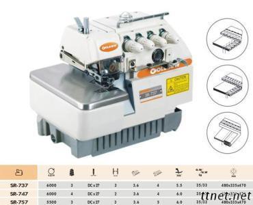 High-Speed Overlock Sewing Machine