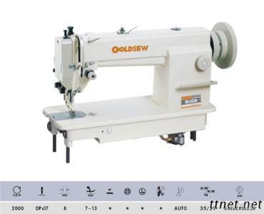 Single Needle Upper & Lower Feed Lockstitch Sewing Machine