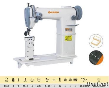 Twin-Needle Post Bed Lockstitch Sewing Machine