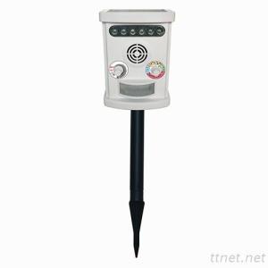Solar Powered (&USB) Ultrasonic and LED Strobe Bird/Animals Repeller