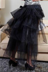Full Length Black Petticoat by Eve'S Night