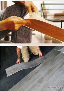 Self Adhesive Wood PVC Floor Tile