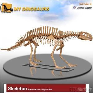 Amusement Park Dinosaur Skeleton Figurine