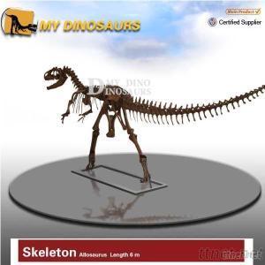 Dinosaur Skeleton Fossil Figurine