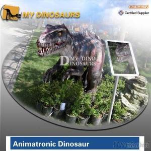 Walking And Roaring Dinosaur For Amusement Park