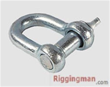 Rigging Hardware Screw Pin Chain Shackle U. S Type, Drop Forged