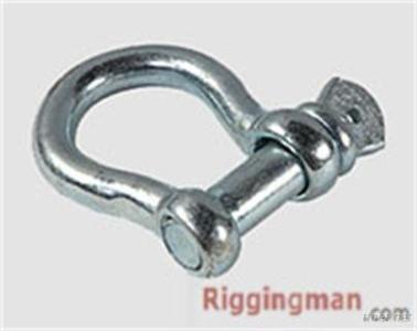 Rigging Hardware Screw Pin Anchor Shackle U. S. Type, Drop Forged