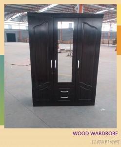 Home Wood Wardrobe