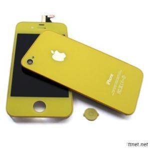 Yellow LCDs For IPhone, With Digitizer And Back Cover Assembly