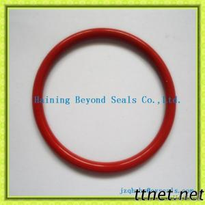 Red Silicone Rubber O Ring