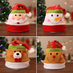 Earmuffs Snowman Christmas Hat For Promotional Gift