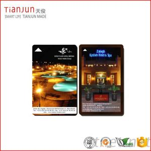 Off-Set Color Printing Plastic Hotel Key Card With Reasonable Price