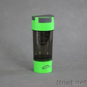 600Ml Plastic Protein Shaker, Cyclone Shaker Cup