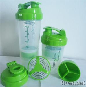 Spider Shaker With Spring Ball 12Oz, Protein Shaker Bottle