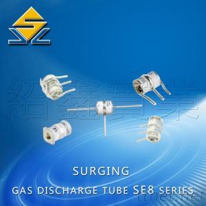 3-Electrode Gas Discharge Tube / Surge Protector 90V 10KA 8*10Mm