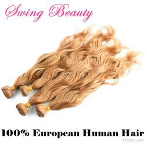 100% European Remy Human Hair Weaving
