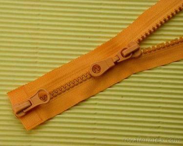 Plastic Two-way Open End Zipper TSF-203