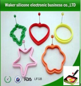 Fda Silicone Egg Rings, Silicone Egg Rings Molds With Handle