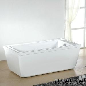 Anti-Overflow Acrylic Bathtub MT-2862