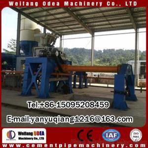 Concrete Electric Pole Making Machine for Concrete Pipe Produce