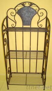 Metal Iron Book Shelf
