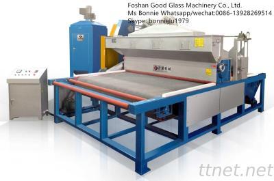 GDS-2100 Automatic Horizontal Glass Sand Blasting Machine