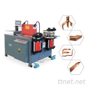 Best Seller Gear Pump Low Noise Easy To Install Low Failure Rate Hydraulic Double Decker Busbar Machine For Copper