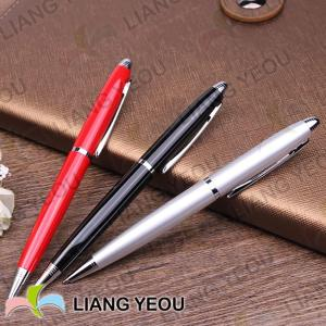 Personalized Metallic Ballpoint Pen Creative Multicolor Advertising Pen can be customized LOGO