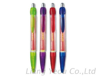 Banner Ball Pen with Paper Inside, Customized LOGO Promotion Banner Pen