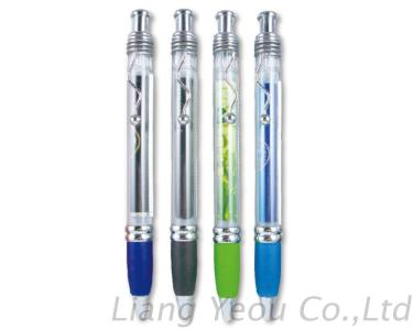 Ballpoint Pen with Paper Inside, Customized LOGO Promotion Banner Pen