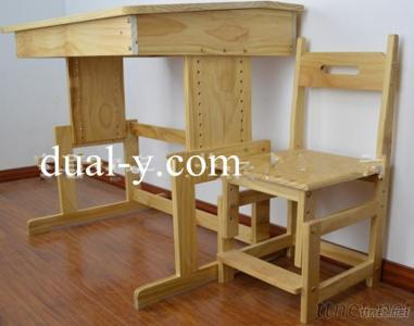 Kids Study Table And Chairs, Children Furniture