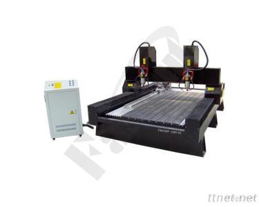 Stone Engraving Machine With 2 Heads
