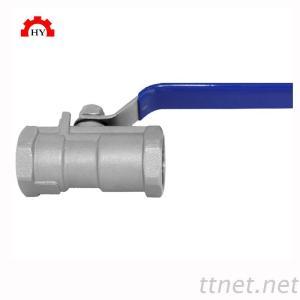stainless steel 1pc reduce port female npt thread ball valve