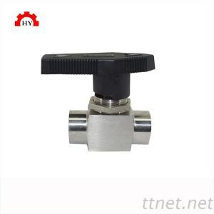 stainless steel 304 female BSPT thread instrumentation ball valve