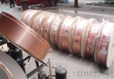 Copper tube C106 BS EN12449 soft copper pipe air conditoning