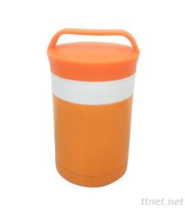 Stainless Steel Vacuum Food Jar with S/S Spoon 350ml 450ml